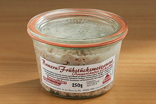 Bauern Frühstücksmettwurst im Weckglas | 200g