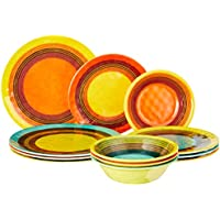 Certified International Sedona Melamine 12-Piece Dinnerware Set