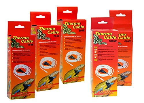 Lucky Reptile HTC-15 Thermo Cable 15 W, 3.8 m, Heizkabel für Terrarien - 3