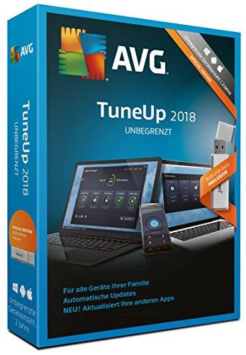 S.A.D AVG TuneUp unbegrenzt (2018) mit 8GB USB-Stick Software