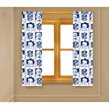 The Northwest Company Officially Licensed NFL New York Giants Curtain Panel, Blue, 63' x 82'
