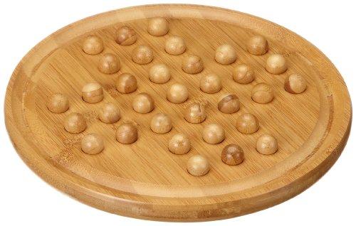 Philos 3159 - Solitaire, groß, Bambus, Green Games, Strategiespiel