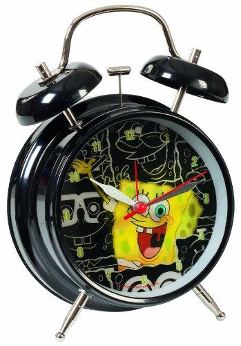 United Labels 0112211 - Spongebob Wecker mit Wechselbild
