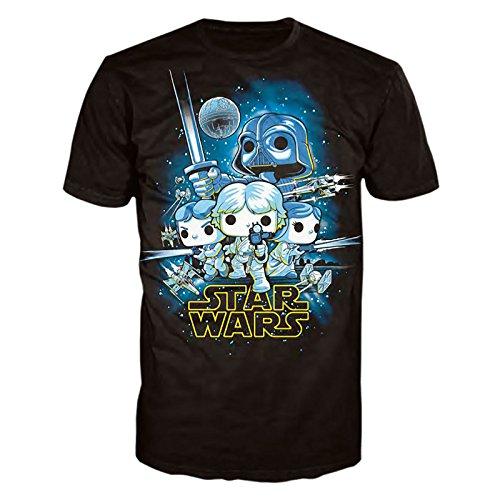 POP! Tees: Star Wars: Una Nueva Esperanza Talla XL