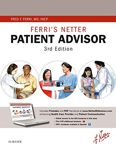 Ferri's Netter Patient Advisor: with Online Access, 3e (Netter Clinical Science) -  Ferri MD  FACP, Fred F., 3rd Edition, Paperback