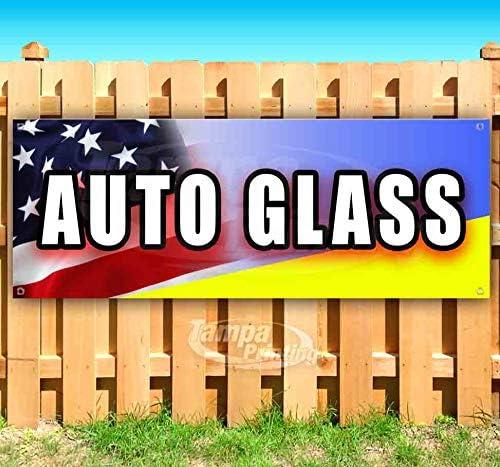 Auto Max 73% OFF Glass 13 oz Banner Non-Fabric Single-S Vinyl Phoenix Mall Heavy-Duty
