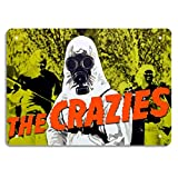 sfasf The Crazies - Cartel de metal retro con película de terror vintage para casa, decoración de pared, garaje, cabina, bar, cafetería, 30,5 x 20,3 cm
