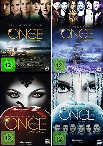 Once Upon a Time - Es war einmal ... Die komplette 1. + 2. + 3. + 4. Staffel (24 Disc | 4-Boxen))