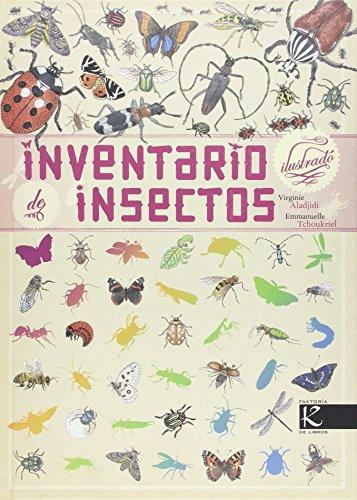 Inventario ilustrado de insectos (Ciencia)