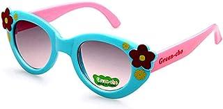 TYJYTM - Gafas de Sol de Verano para niños Gafas de Seguridad Flexibles Niña Bebé Gafas para Fiesta