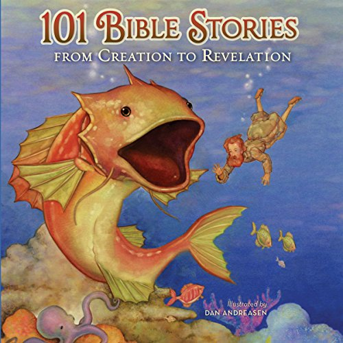 101 Bible Stories from Creation to Revelation audiobook cover art