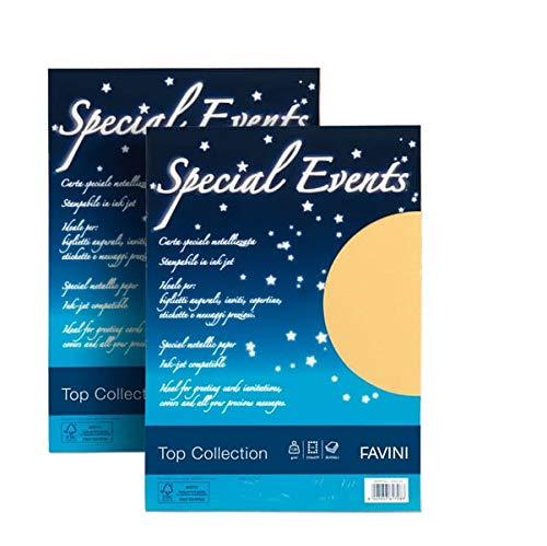 FAVINI carta metallizzata special events 120gr a4 20fg oro 04