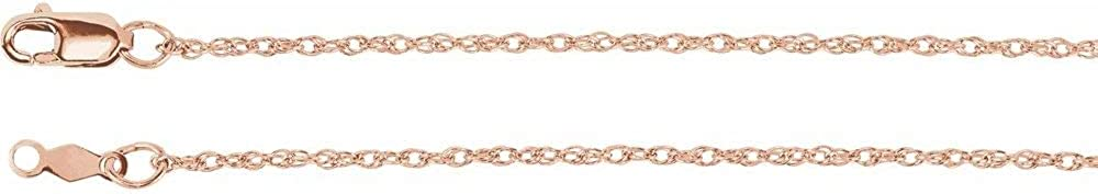 Limited time trial price 14k Rose Max 89% OFF Gold 1.25mm 18