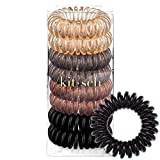 Kitsch Spiral Hair Ties, Coil Hair Ties, Phone...