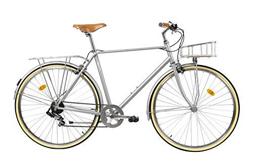 Fabric City Classic-Bicicleta de Paseo (L-58cm, Classic Matt