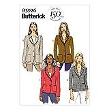 Butterick Patterns B5926 - Cartamodello per Giacca da Donna, Varie Taglie, Colore: Bianco (Lingua Inglese)