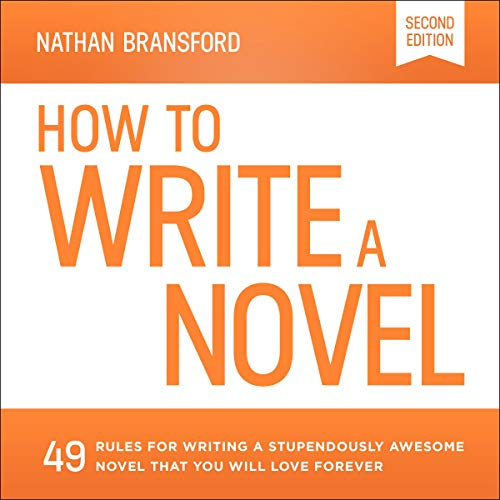 How to Write a Novel audiobook cover art