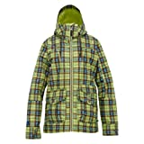 Burton, Giacca da Snowboard Donna WB Method JK, Multicolore (Aloe Gypsy Plaid), S
