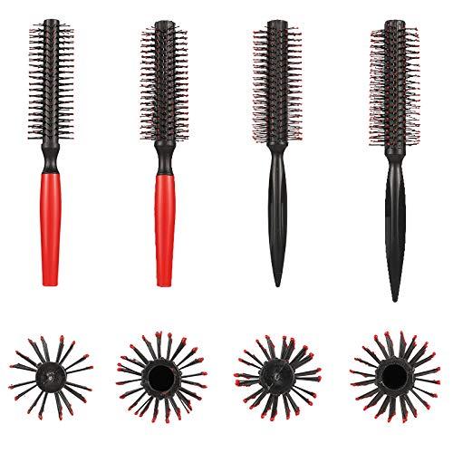 Auidy_6TXD 4er Set Haarbürste Rundbürste Haar Styling Bürste für Föhnen von Haaren Styling Werkzeug