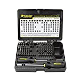 Wheeler Engineering 89-Piece Deluxe Gunsmithing Screwdriver Set with Durable Construction and Storage Case for Gunsmithing and Maintenance