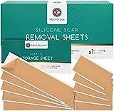 Parches para Cicatrices [11 unidades] de Medi Grade – Tiras Reutilizables para Reducción de Cicatrices, Grandes/Pequeñas – Eliminación de Cicatrices Rápida y Eficaz para Cesáreas, Acné, Queloides