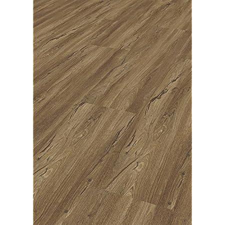 Bosco Tepcor Klick Vinylboden Premium Vinylbodenbelag mit Klicksystem Pflegeleichte und wasserfeste Vinyl Bodenbel/äge in vielen verschiedenen Farben