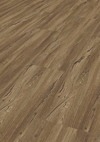 Bodentrend Vinylboden Galant zum Klicken mit Trittschalldämmung, 5,6 mm Stärke, 0,30 mm Nutzschicht - waterproof - 1 Paket (2,64 m²) (Pietra)