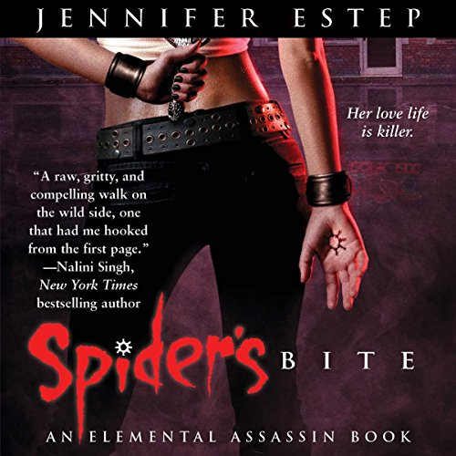Spider's Bite audiobook cover art
