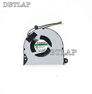 DBTLAP Ordenador portátil Ventilador compatibles para HP Probook 6560 6560B 6565B 6570B CPU enfriamiento Ventilador 647603-001 641183-001