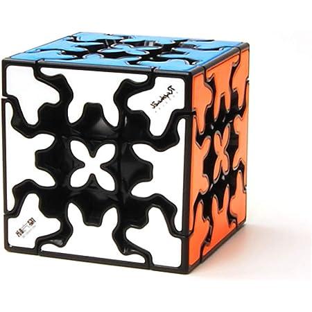 陽光の道 3x3x3 歯車マジックキューブ 3x3x3 歯車スピードキューブ 3x3 Gear Cube キューブパズル 競技用 立体パズル ストレス解消 グッズ 暇つぶし 6歳以上適合します