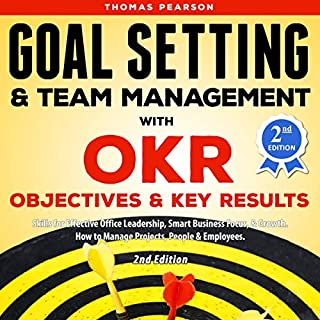 Goal Setting & Team Management with OKR audiobook cover art