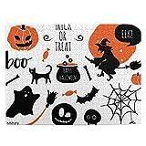 CVSANALA Rompecabezas con Imágenes 500 Piezas,Halloween Set Murciélagos Araña Calabazas Bruja,Educativo Juego Familiar Arte de Pared Regalo para Adultos,Adolescentes,Niños,20.4' x 15'