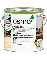 Osmo Terras-Olie 007, Teakolie kleurloos 0,75 liter. Beschermt en verzorgt uw terras of tuinmeubel, tegen alle weertypes.