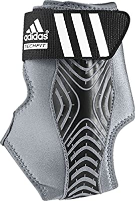 adidas Adizero Speedwrap Ankle Brace Medium Lead/Grey Large