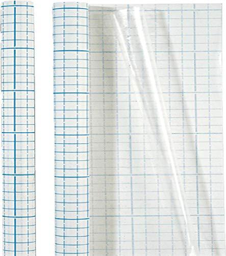 Brunnen – Rollo de funda para libros (PP, para todos los tamaños, se puede cortar 500/40 cm), transparente