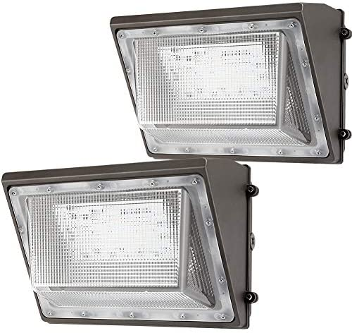 Lightdot 2 Pack 120W LED Wall Pack Lights with Photocell 13200 LM 700W HPS HID Equivalent Daylight product image