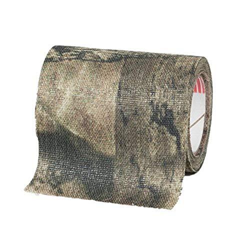 Allen Company, Cloth Camo Tape Cases, Cinta de Tela de Camuflaje (2' x10'), Unisex, Mossy Oak Break-up Infinity, 10'