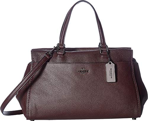 Please Note: COACH™ items cannot be shipped to military addresses (APO or FPO) and addresses in Hawaii, the Virgin Islands, Guam or any other locations outside of the continental US. This COACH™ Polished Pebble Leather Fulton Satchel will fit into yo...