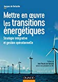 Mettre en oeuvre les transitions énergétiques - Stratégie intégrative et gestion opérationnelle - Stratégie intégrative et gestion opérationnelle