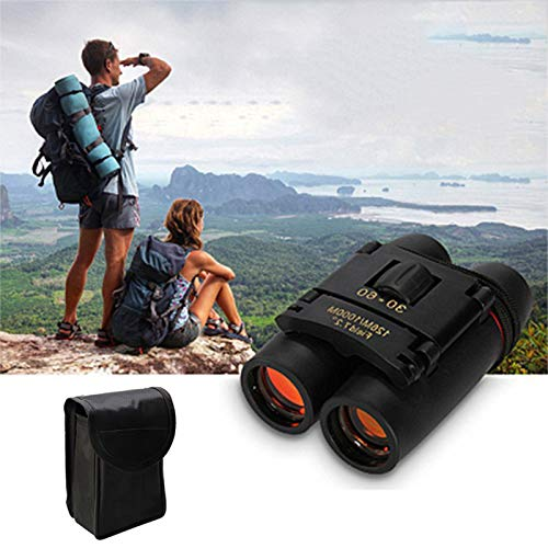 Binoculares para Adultos, Compact HD Professional Daily Daily Impermeable Telescope para Adultos Pájaros Viendo la Caza de Viajes