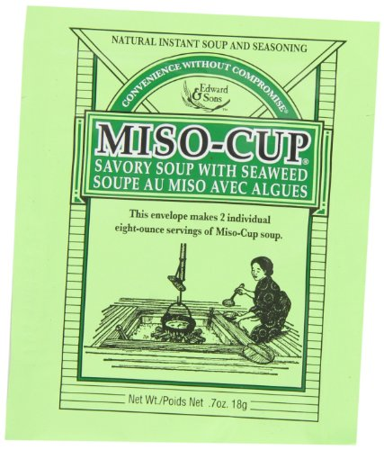 Miso-Cup Soup with Seaweed 2-Serving Envelopes (Pack of 24)
