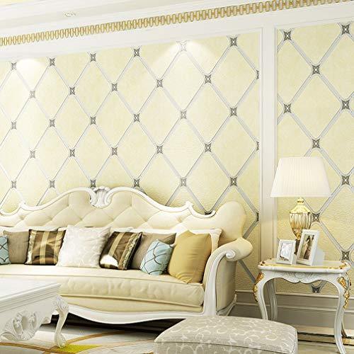 Behang, eenvoudige moderne suède dikker muur papier 3D driedimensionale woonkamer slaapkamer TV achtergrond wallcoverings