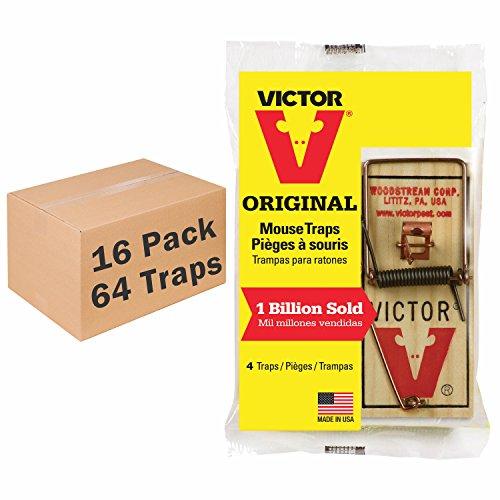 فيكتور 4 حزمة معدنية الدواسة الماوس فخ