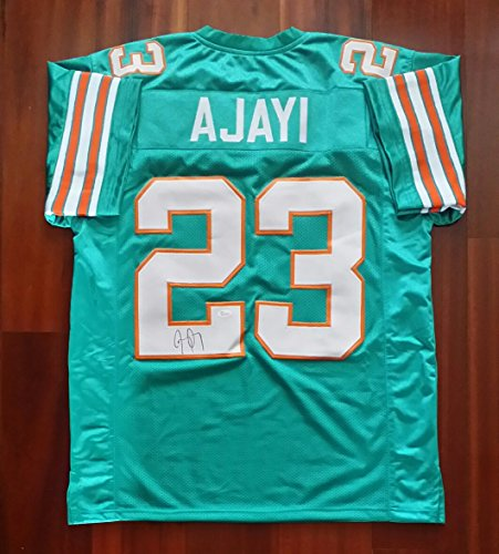 Jay Ajayi Autographed Signed Jersey Miami Dolphins JSA