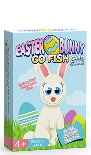 Easter Bunny Go Fish Card Game...