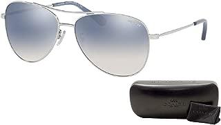 Coach HC7079 Aviator Sunglasses For Women+FREE Complimentary Eyewear Care Kit