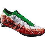 DMT KR1 Tricolor - Zapatos para bicicleta de carretera, color Rojo, talla 38 EU