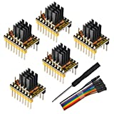 Eryone 5PCS TMC2209 Stepper Motor Driver Module Packed with Heat Sink Screwdriver for 3D Drucker...