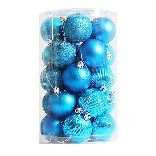 Eternitry - Pallina decorativa per Natale, 24 pezzi