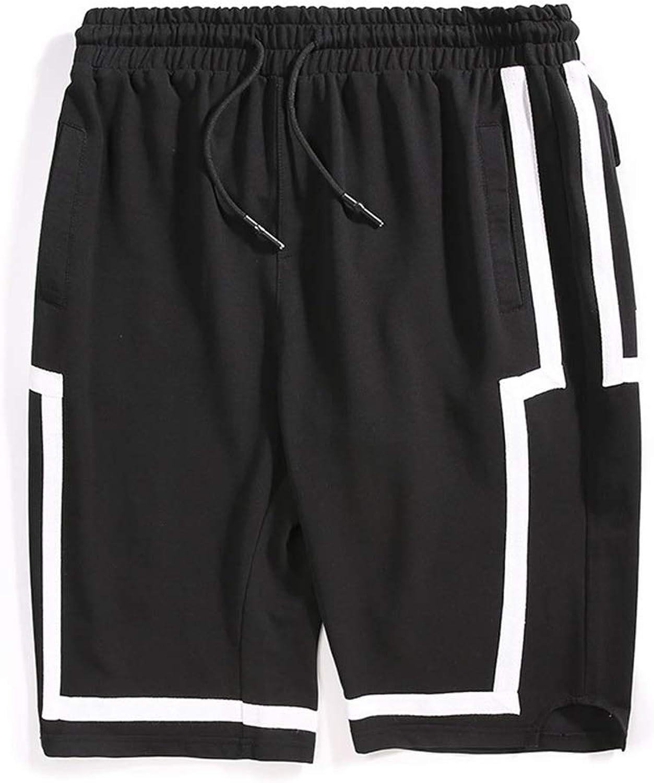Herren Shorts Neue Sport Jogger Baumwolle Radfahren Atmungsaktive Sommer Jogging Gym Hosen Laufshorts Multi Taschen,XXXXXL